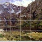 Bierstadt Landscapes Backsplash Mural Tiles Kitchen Floor Decor