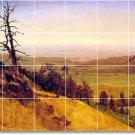 Bierstadt Landscapes Murals Shower Wall Tile Renovations Design