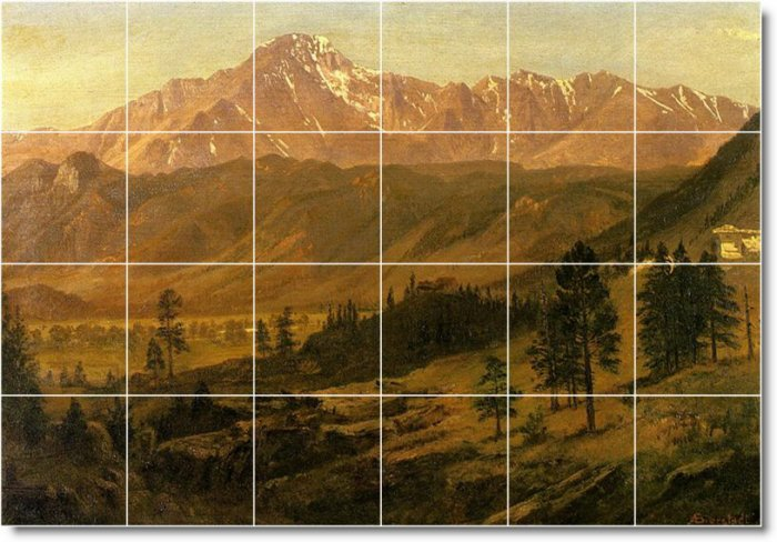 Bierstadt Landscapes Murals Room Wall Wall Decor House Renovate