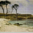 Bierstadt Waterfront Tiles Wall Mural Shower House Design Decor