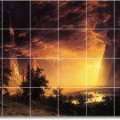 Bierstadt Landscapes Room Mural Living Floor Floor Design Decor