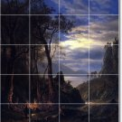 Bierstadt Landscapes Tiles Mural Shower House Remodeling Design