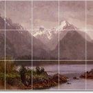 Bierstadt Landscapes Room Tile Floor Dining Design Modern House