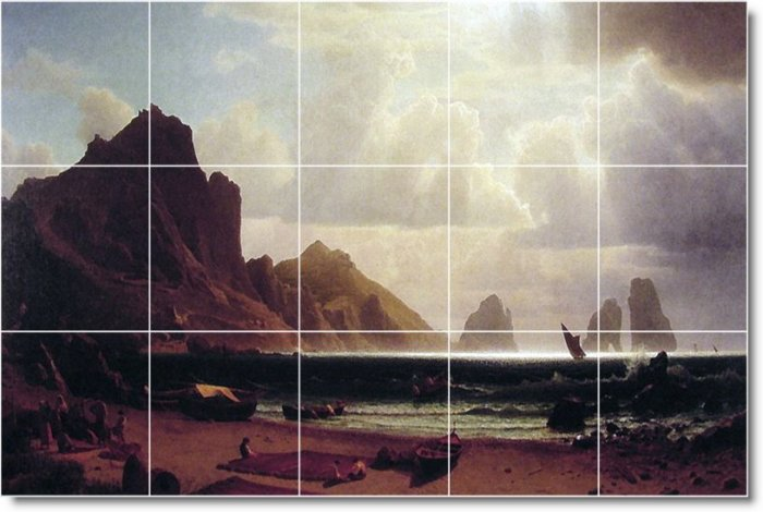 Bierstadt Waterfront Room Floor Living Tiles Modern House Decor