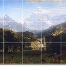 Bierstadt Landscapes Tiles Floor Living Room Modern Floor Decor