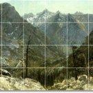 Bierstadt Landscapes Bathroom Shower Wall Tile Decor Commercial