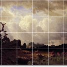 Bierstadt Landscapes Mural Bathroom Shower Renovate Decor House