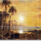Bierstadt Waterfront Backsplash Tile Wall Mural Home Art Modern