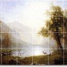 Bierstadt Landscapes Backsplash Wall Tile Mural Art Home Modern