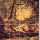 Bierstadt Landscapes Room Living Wall Murals Remodel Home Ideas