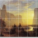 Bierstadt Landscapes Wall Bedroom Murals Tile Design Commercial