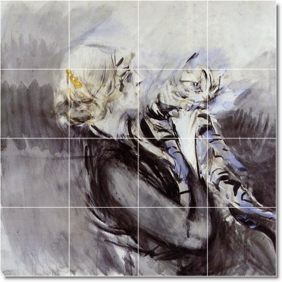 Boldini Animals Wall Kitchen Mural Tile Backsplash Design Decor