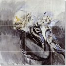 Boldini Animals Wall Backsplash Kitchen Tile Mural Decor Design