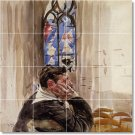 Boldini Men Wall Shower Bathroom Murals Decorate Modern Interior