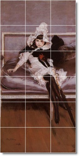 Boldini Women Room Dining Mural Tile Decorate Construction House