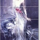 Boldini Women Tiles Mural Room Floor Residential Decorating Idea