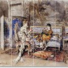 Boldini Women Murals Wall Tile Room Dining Remodeling Idea House