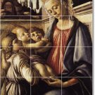 Botticelli Religious Murals Floor Bathroom House Ideas Decorating