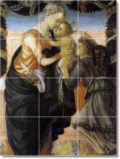 Botticelli Religious Floor Tiles Bedroom Modern Construction Home