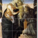 Botticelli Religious Floor Tiles Bedroom Modern Construction Home