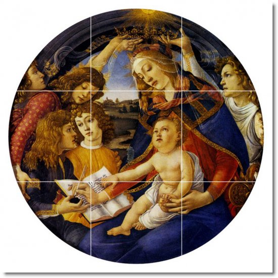 Botticelli Religious Room Dining Floor Tile Commercial Remodeling
