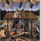 Botticelli Religious Room Mural Tile Living Design Decor Interior