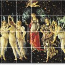 Botticelli Mythology Room Tile Mural Renovations Ideas Commercial
