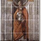 Botticelli Historical Bathroom Tile Mural Traditional Renovate