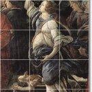 Botticelli Religious Tile Room Dining Mural Ideas Remodeling Home