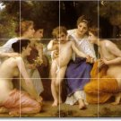 Bouguereau Angels Tile Mural Bedroom Commercial Ideas Renovations