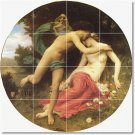 Bouguereau Mythology Tile Wall Room House Design Idea Renovations