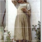 Bouguereau Children Wall Wall Mural Room Dining House Renovate