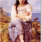 Bouguereau Children Tiles Room Dining Wall Mural House Remodel