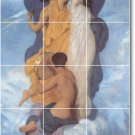Bouguereau Mythology Mural Living Room Tiles Wall Renovate Design