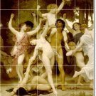 Bouguereau Mythology Mural Living Wall Room Tiles Design Renovate