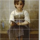 Bouguereau Children Tile Murals Shower Wall Decor Modern House