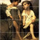 Bouguereau Children Wall Murals Backsplash Wall Interior Decor