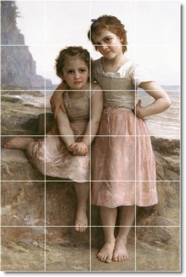 Bouguereau Children Room Tiles Living Floor House Modern Decor
