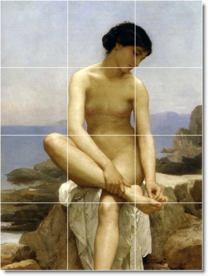 Bouguereau Nudes Room Wall Mural Remodeling House Contemporary
