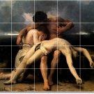 Bouguereau Religious Mural Kitchen Backsplash Tile Renovate Ideas