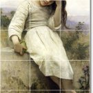 Bouguereau Children Bathroom Mural Shower House Renovate Decor