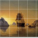 Bradford Ships Tile Wall Kitchen Murals Interior Remodeling Idea
