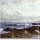 Bricher Waterfront Living Room Floor Murals House Decor Design