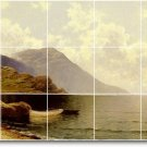 Bricher Waterfront Mural Tiles Wall Room Decorate House Modern