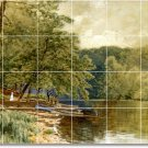 Bricher Country Dining Wall Room Mural Wall Remodel House Ideas