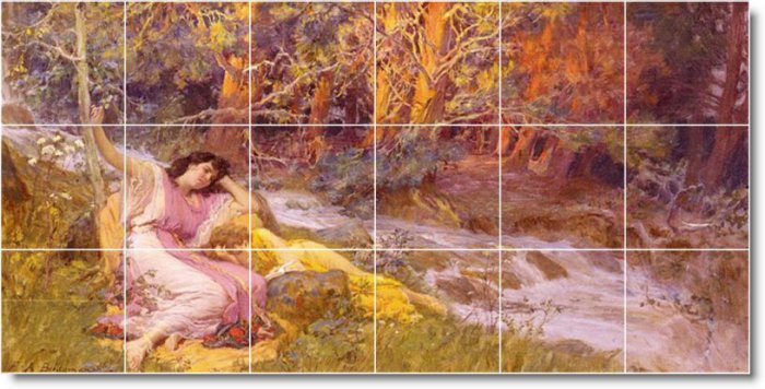 Bridgman Country Floor Mural Bathroom Remodeling Home Decorate