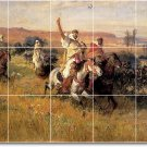 Bridgman Country Mural Floor Bathroom Decorate Home Remodeling