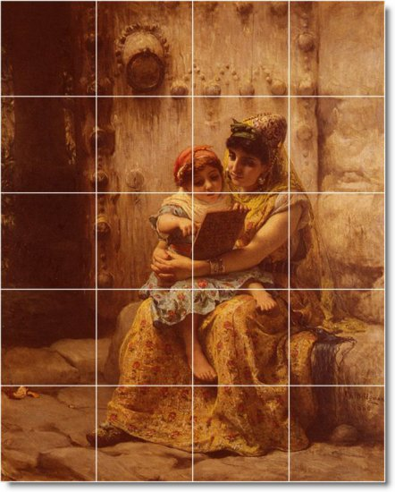 Bridgman Mother Child Wall Room Murals Dining Decor Decor Home