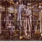 Burne-Jones Religious Backsplash Tile Wall Murals Design House