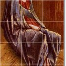 Burne-Jones Religious Mural Living Wall Tiles Room Floor Decor
